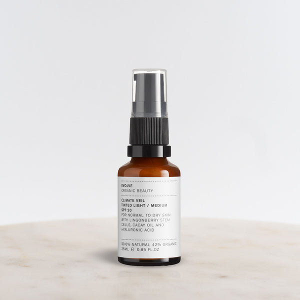 Climate Veil Tinted SPF Bottle