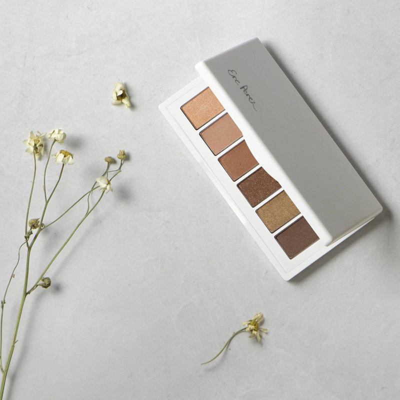 Open palette of Ere Perez Chamomile Eye Palette Gorgeous