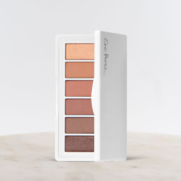 Open palette of Ere Perez Chamomile Eye Palette Lovely