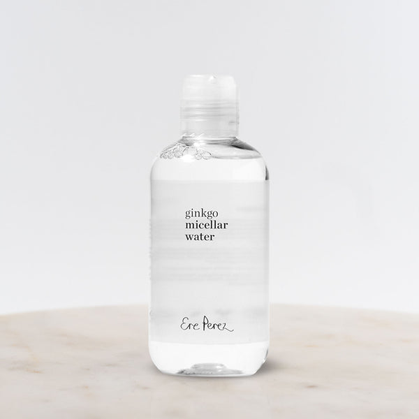 Bottle of Ere Perez Ginkgo Micellar Water