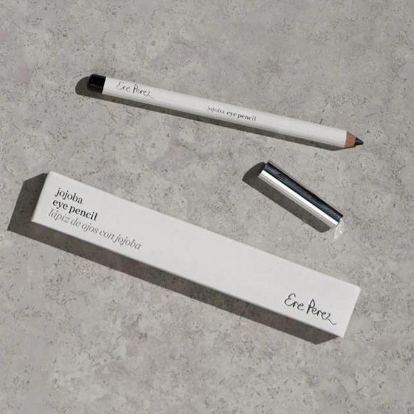 Ere Perez Jojoba Eye Pencil Black with lid and box