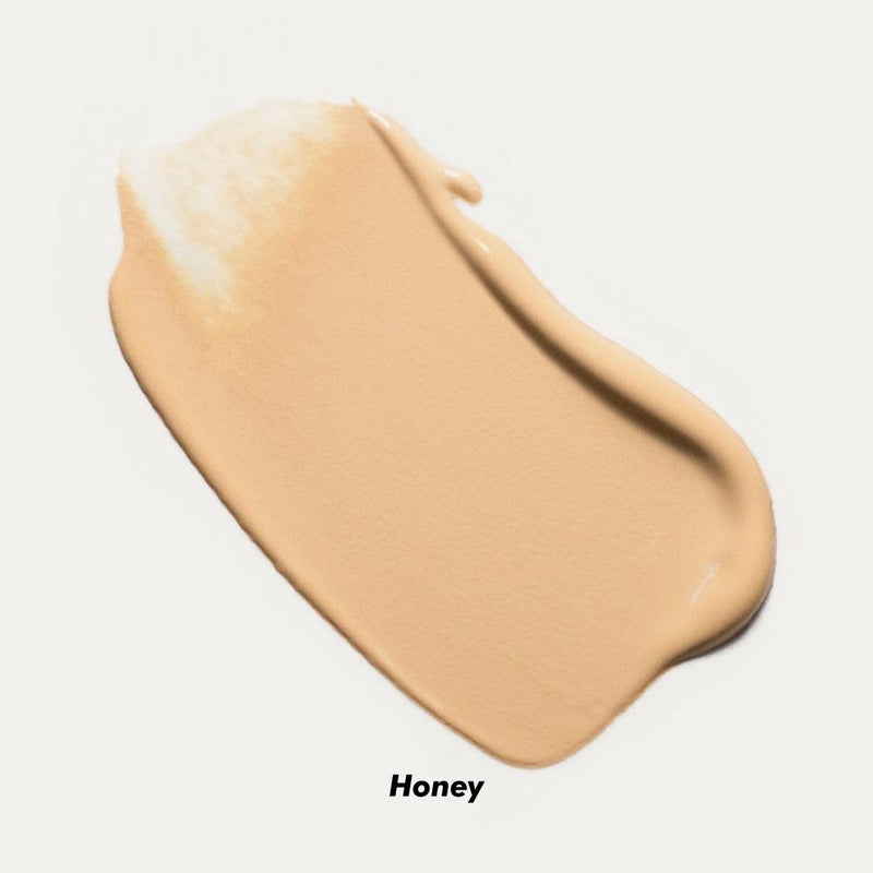 Ere Perez Oat Milk Foundation Swatch Honey