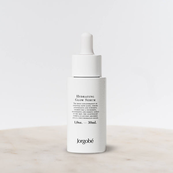 30ml Bottle of Hydrating Glow Serum from Jorgobe