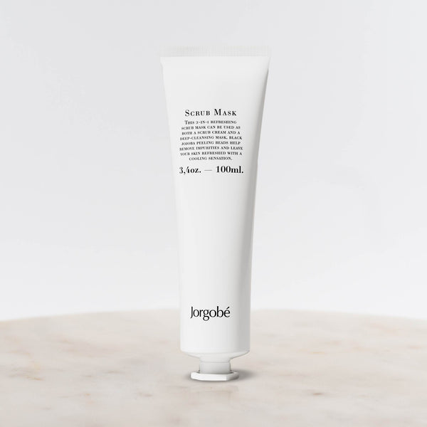 Bottle of Jorgobe Scrub mask 10ml