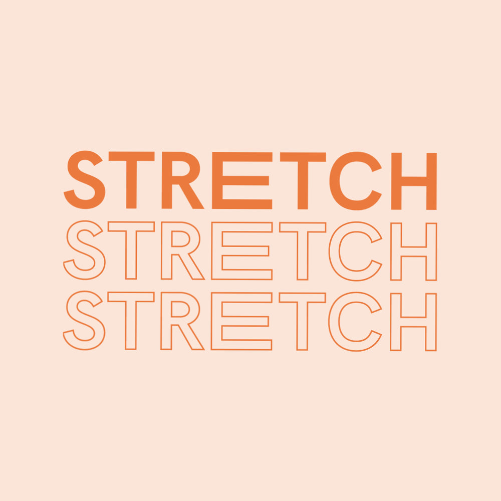 Why we should stretch more