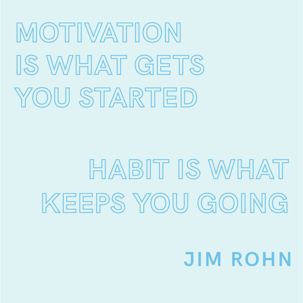 The power of creating habits