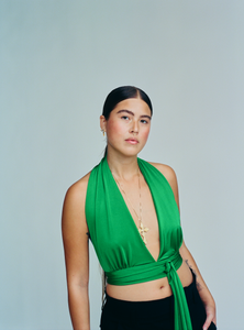 The Dream Top - Jade Green