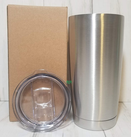 20 oz. Stainless Steel Tumbler Individual