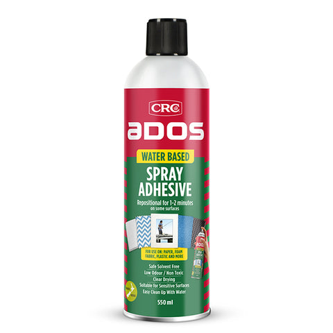 CRC8282 - Water Based Spray Adhesive 550ml