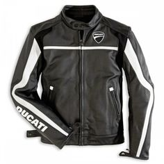 Ladies Ducati Jacket Leather Twin 44