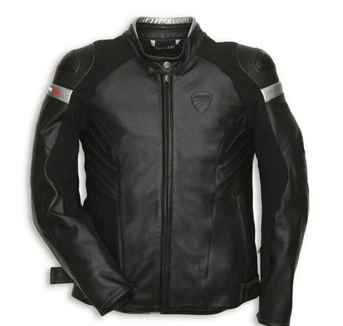 Ducati Dark Armour Leather Jacket