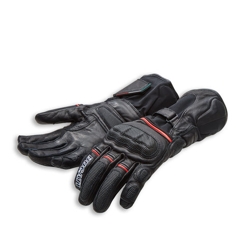 Ducati Strada C4 Leather/Fabric Glove