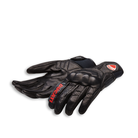 Ducati Logo C1 Leather Gloves