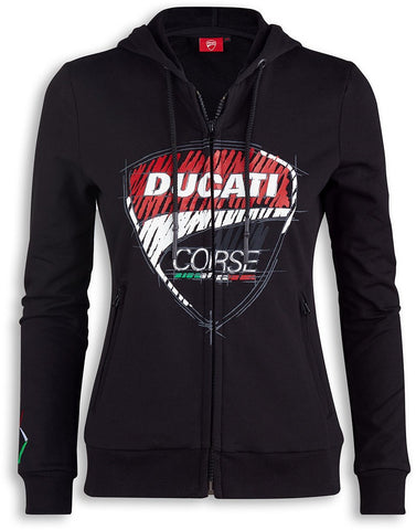 Ducati Corse Sketch Ladies Sweatshirt
