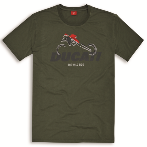 Ducati Graphic Art Enduro T-Shirt