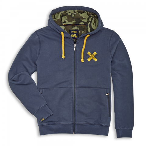 Ducati Scrambler Cross Hooded Sweatshirt