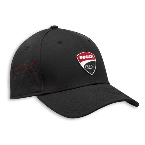 Ducati DC Stretch Black Cap