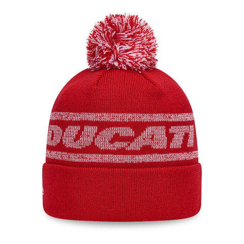 Ducati Cuff Knit Bobble Hat