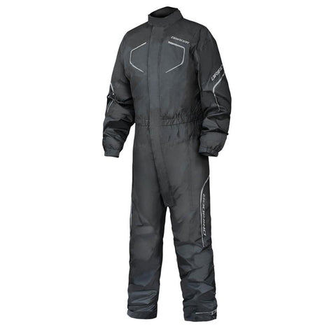 DRIRIDER HURRICANE 2 RAIN SUIT - BLACK