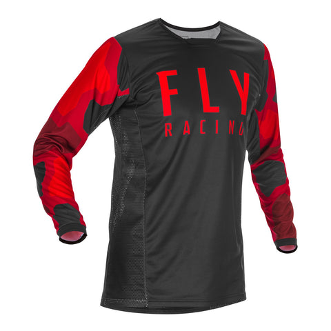 Fly 2021 Kinetic K221 Jersey - Red / Black