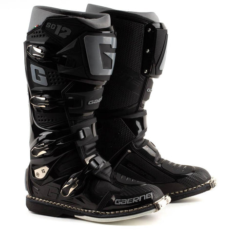 GAERNE SG12 BOOT - BLACK / GREY