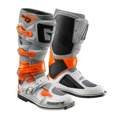 GAERNE SG12 BOOT - ORANGE / GREY / WHITE