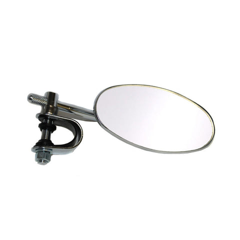 WHITES MIRROR OVAL CLAMP ON CLASSIC (Ea)