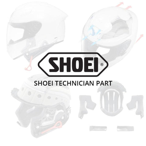 SHOEI NEOTEC TOP AIR OUTLET LGT SIL