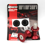 WHITES SWING ARM SPOOLS - ALLOY M8 RED BB-80R