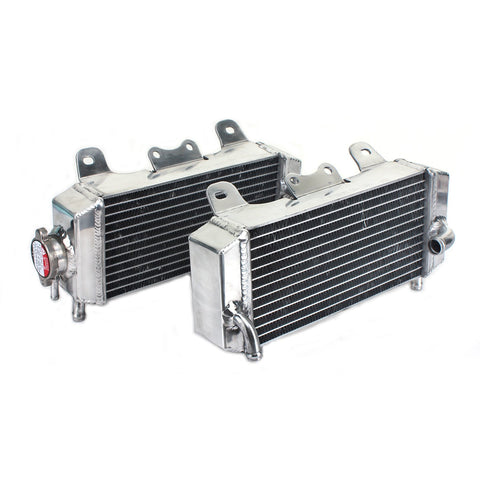 WHITES RADIATORS YAM YZ250F 07-09 PAIR