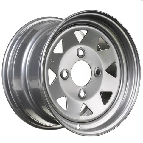 WHITES ATV STEEL RIM 8 SPOKE 12 X 7 FR 4/110 5+2 HON SUZ YAM