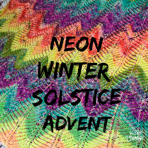 A Neon Winter Solstice Advent