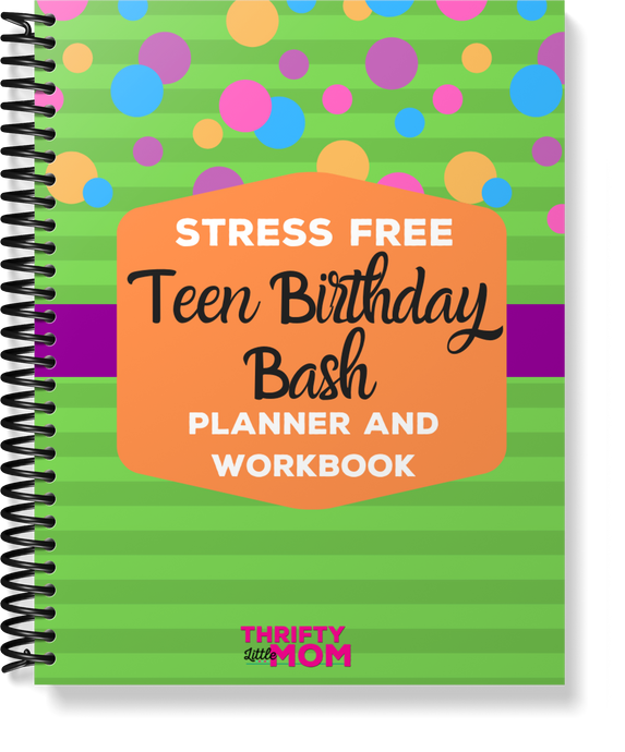 Stress Free Teen Party Planner & Guide