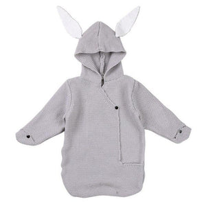 Rabbit Ear Newborn Baby Hooded Swaddling Blankets