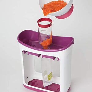 Infantino Squeeze Station, homemade puree