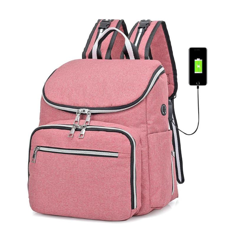Fashion Maternity Waterproof  Diaper Bags Backpack