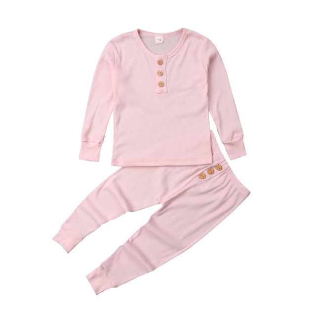 Pudcoco Modern 2pc Pajama Set