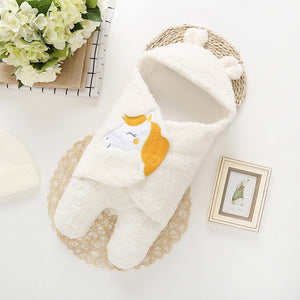 Baby Swaddle Sleeping Blanket Infant Winter Collection