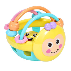 Early LEARNING Educational Cartoon Bizzy Bee Bell Baby TEETHING Toy
