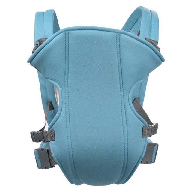 Adjustable Newborn Baby, Infant & Toddler Safety Carrier 360 Four Position with Lap Strap