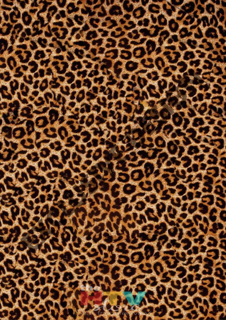 12 X 17 Cheetah Leopard Cow Animal Print Pattern Htv Sheet