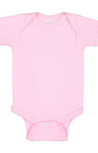 Rabbit Skins Infant Baby Rib Cotton Bodysuit Onesie