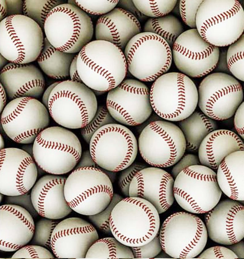 Baseball Pattern Decal 12
