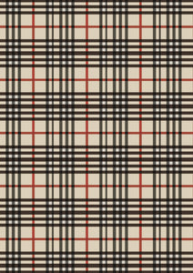 "12"" x 17"" HTV Big Beige Black Plaid Preppy Trendy - Plaid Puzzle Pieces Pattern HTV Sheet"