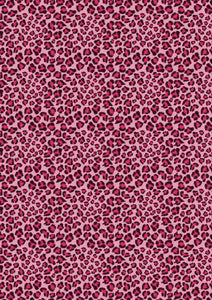 "12"" x 17"" Cheetah Pink Animal HTV Leopard Pattern HTV Sheet CheetahPink"