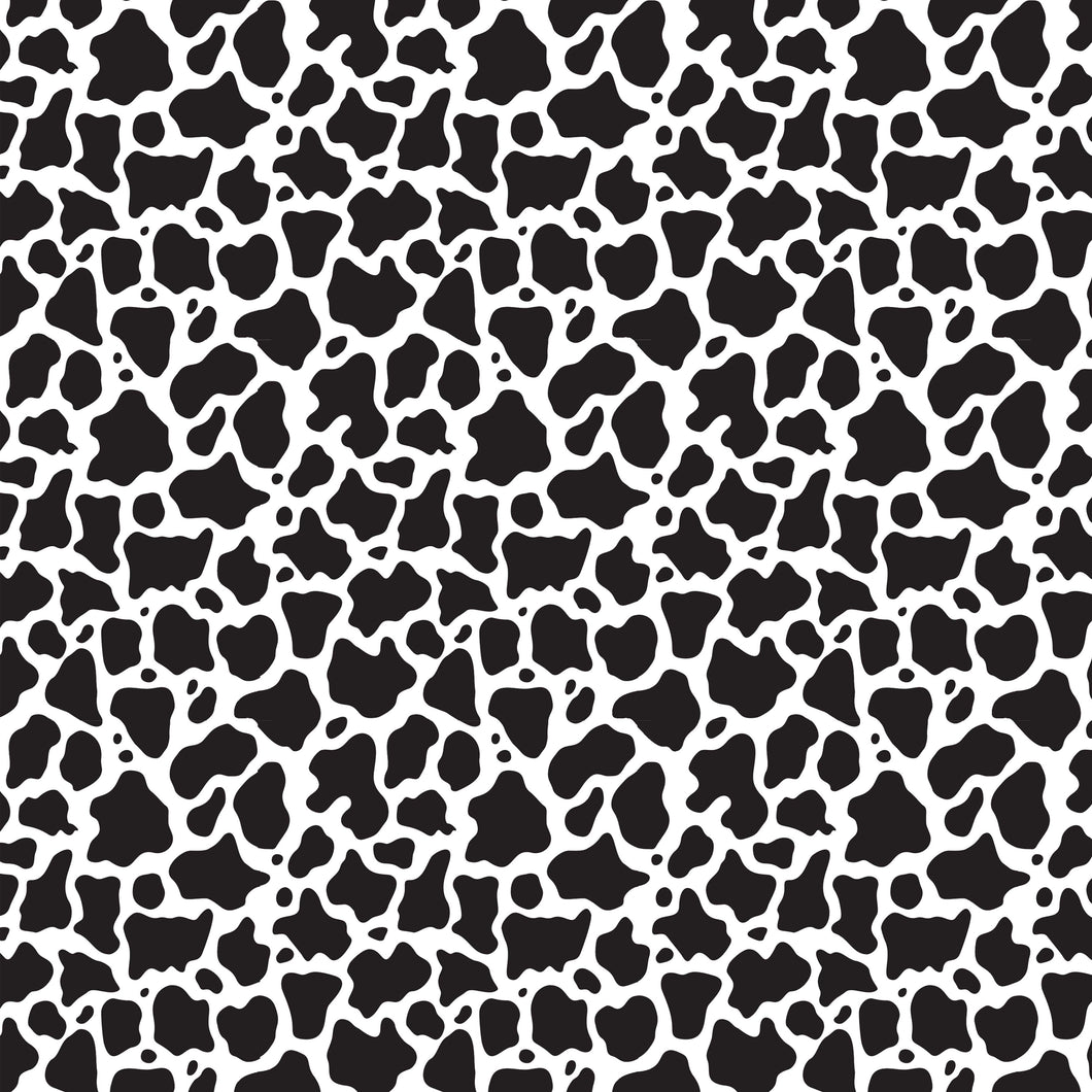 NEW Cow Animal Print Pattern Decal 12
