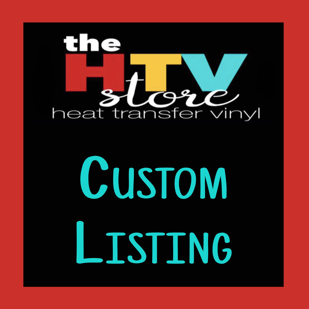 Custom Listing for Jazmin Reyna (San Juan)