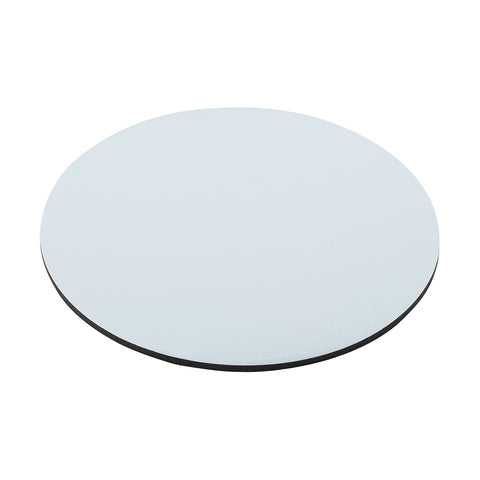 Mouse Pad White High Quality 7.5 inches in Diameter