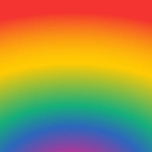 "Rainbow Bright Ombre Pattern Decal 12"" x 12"" Sheet Waterproof - Gloss Finish - RainbowBrightDecal"