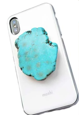 Cellphone Pop Up STONE Grip -  Accessories -  Choose Color